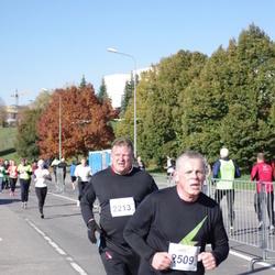 """Vilnius 10 km run, """"Run with Živilė Balčiūnaitė"""". - Marius Mateliunas (2213), Audrius Miežys (2509)"""