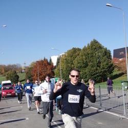 """Vilnius 10 km run, """"Run with Živilė Balčiūnaitė"""". - Nerijus Petrulėnas (2569)"""