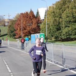 """Vilnius 10 km run, """"Run with Živilė Balčiūnaitė"""". - Remalda Kergytė (2556)"""