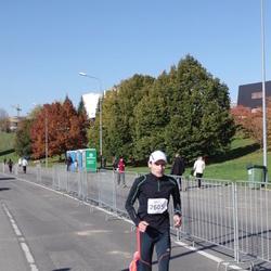 """Vilnius 10 km run, """"Run with Živilė Balčiūnaitė"""". - Remigijus Šnioka (2605)"""