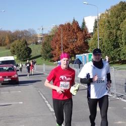 """Vilnius 10 km run, """"Run with Živilė Balčiūnaitė"""". - Tomas Savickas (2020), Lauras Aleksandravičius (2254)"""