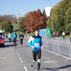 """Vilnius 10 km run, """"Run with Živilė Balčiūnaitė"""". - Justas Chadasevičius (2065)"""