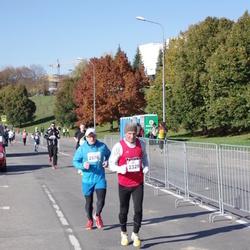 """Vilnius 10 km run, """"Run with Živilė Balčiūnaitė"""". - Zenonas Balčiauskas (2329), Tomas Segalis (2576)"""