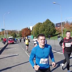 """Vilnius 10 km run, """"Run with Živilė Balčiūnaitė"""". - Marius Postnovas (2548)"""
