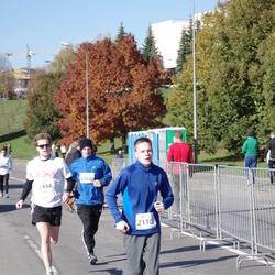 """Vilnius 10 km run, """"Run with Živilė Balčiūnaitė"""". - Mantas Razma (2110)"""
