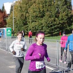 """Vilnius 10 km run, """"Run with Živilė Balčiūnaitė"""". - Joris Makauskis (2350), Dovilė Leskauskaitė (2440)"""