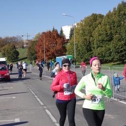 """Vilnius 10 km run, """"Run with Živilė Balčiūnaitė"""". - Asta Buinevičiūtė (2066), Laima Gustainyte (2513)"""
