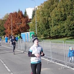 """Vilnius 10 km run, """"Run with Živilė Balčiūnaitė"""". - Alma Dobrovolskytė (2093)"""