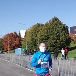 """Vilnius 10 km run, """"Run with Živilė Balčiūnaitė"""". - Tadeuš Varnas (2385)"""