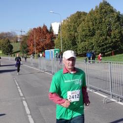 """Vilnius 10 km run, """"Run with Živilė Balčiūnaitė"""". - Stasys Laniauskas (2412)"""