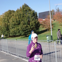 """Vilnius 10 km run, """"Run with Živilė Balčiūnaitė"""". - Lidija Danilčenko (2477)"""
