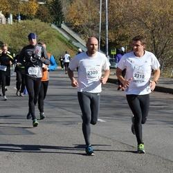"""Vilnius 10 km run, """"Run with Živilė Balčiūnaitė"""". - Danielius Uždavinys (2113), Tomas Petraitis (2309), Sigitas Pašakinskas (2310)"""