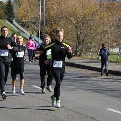 """Vilnius 10 km run, """"Run with Živilė Balčiūnaitė"""". - Andrius Dalinkevičius (2167), Marius Jakštys (2375)"""