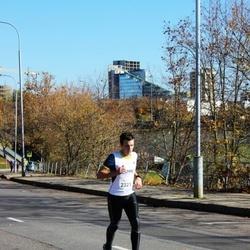 """Vilnius 10 km run, """"Run with Živilė Balčiūnaitė"""". - Karolis Gibavičius (2321)"""