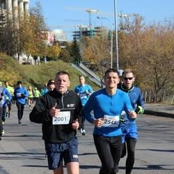 """Vilnius 10 km run, """"Run with Živilė Balčiūnaitė"""". - Rimantas Butkevičius (2001), Marius Postnovas (2548)"""