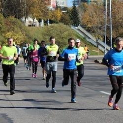 """Vilnius 10 km run, """"Run with Živilė Balčiūnaitė"""". - Tomas Domarkas (2415), Audrius Karklys (2626)"""