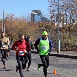 """Vilnius 10 km run, """"Run with Živilė Balčiūnaitė"""". - Vaidas Kazlauskas (2182), Gediminas Latvys (2593)"""