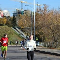 """Vilnius 10 km run, """"Run with Živilė Balčiūnaitė"""". - Violeta Vilkickaitė (2521)"""