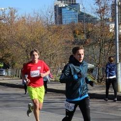 """Vilnius 10 km run, """"Run with Živilė Balčiūnaitė"""". - Evaldas Jankauskas (2363), Agnė Markauskaite (2560)"""