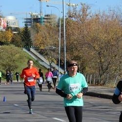 """Vilnius 10 km run, """"Run with Živilė Balčiūnaitė"""". - Arūnas Budrikis (2416)"""