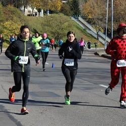 """Vilnius 10 km run, """"Run with Živilė Balčiūnaitė"""". - Ričardas Kvedaravičius (2005), Andrius Laurinavičius (2482), Asta Daudaitė (2523)"""