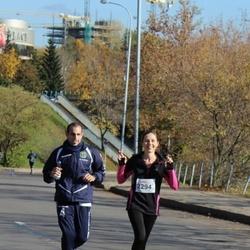 """Vilnius 10 km run, """"Run with Živilė Balčiūnaitė"""". - Vaida Bytautaitė (2294)"""