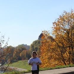 "Vilnius 10 km run, ""Run with Živilė Balčiūnaitė"". - Jelizaveta Baranova (2252)"
