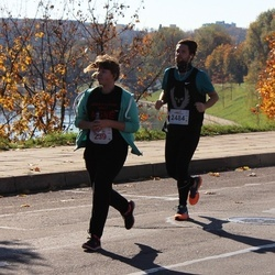 """Vilnius 10 km run, """"Run with Živilė Balčiūnaitė"""". - Agnė Kučinskaitė (239), Mantas Linkevičius (2484)"""