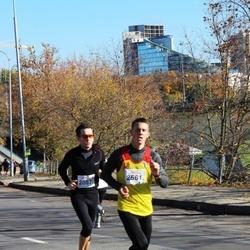 """Vilnius 10 km run, """"Run with Živilė Balčiūnaitė"""". - Andrius Matuliauskas (2087), Almantas Dapkevicius (2561)"""