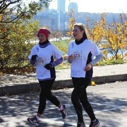 """Vilnius 10 km run, """"Run with Živilė Balčiūnaitė"""". - Vaida Šalnienė (170), Viktorija  Račiukaitytė (373)"""