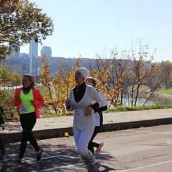 """Vilnius 10 km run, """"Run with Živilė Balčiūnaitė"""". - Lina Jakučionienė (203), Jurgita Lapienytė (314)"""