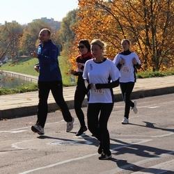 """Vilnius 10 km run, """"Run with Živilė Balčiūnaitė"""". - Aistė Kielaitė (176), Milda Mozuraitė (178)"""
