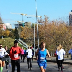 """Vilnius 10 km run, """"Run with Živilė Balčiūnaitė"""". - Marko Seppae (2091), Algirdas Bartkevičius (2411)"""
