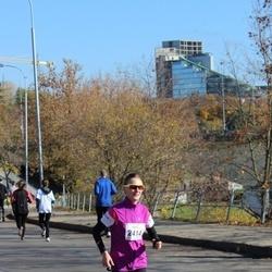"""Vilnius 10 km run, """"Run with Živilė Balčiūnaitė"""". - Brigita Virbalytė (2414)"""