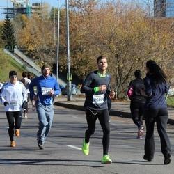 """Vilnius 10 km run, """"Run with Živilė Balčiūnaitė"""". - Andrius Talalajevas (2174), Romas Milkamanavičius (2505), Sarunas Stepukonis (2600)"""