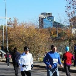 """Vilnius 10 km run, """"Run with Živilė Balčiūnaitė"""". - Andrius Talalajevas (2174), Romas Milkamanavičius (2505)"""