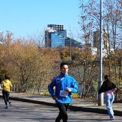 """Vilnius 10 km run, """"Run with Živilė Balčiūnaitė"""". - Andrius Meškauskas (2631)"""