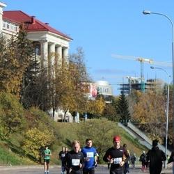 """Vilnius 10 km run, """"Run with Živilė Balčiūnaitė"""". - Tadas Černauskas (2139), Viktoras Chadyšas (2546)"""