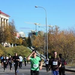 """Vilnius 10 km run, """"Run with Živilė Balčiūnaitė"""". - Artūras Bendorius (2046), Vytautas Sereičikas (2587)"""