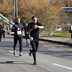 """Vilnius 10 km run, """"Run with Živilė Balčiūnaitė"""". - Marius Jasinevičius (2302), Saulius Talacka (2553)"""