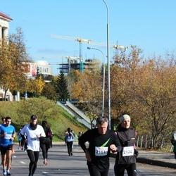 """Vilnius 10 km run, """"Run with Živilė Balčiūnaitė"""". - Austėja Miežytė (2138), Dainius Miežys (2161)"""