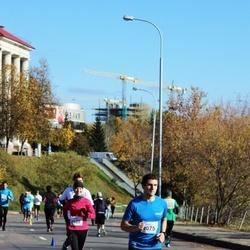 """Vilnius 10 km run, """"Run with Živilė Balčiūnaitė"""". - Andrius Olišauskas (2075), Renata Siliuk (2602)"""