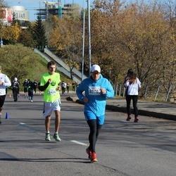 """Vilnius 10 km run, """"Run with Živilė Balčiūnaitė"""". - Nerijus Urba (2424), Tomas Segalis (2576)"""