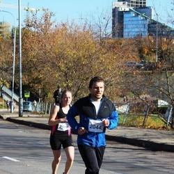 """Vilnius 10 km run, """"Run with Živilė Balčiūnaitė"""". - Darius Srėbalius (2044)"""