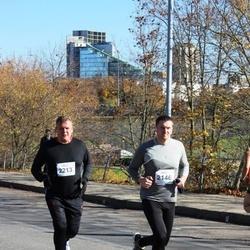 """Vilnius 10 km run, """"Run with Živilė Balčiūnaitė"""". - Tomas Gedvilas (2146), Marius Mateliunas (2213)"""