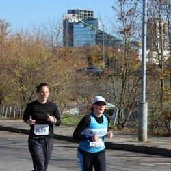 """Vilnius 10 km run, """"Run with Živilė Balčiūnaitė"""". - Sigita Kiškytė (2448), Ieva Anužytė (2609)"""