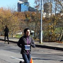 """Vilnius 10 km run, """"Run with Živilė Balčiūnaitė"""". - Ramunė Šimelevičienė (2368)"""