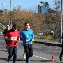 """Vilnius 10 km run, """"Run with Živilė Balčiūnaitė"""". - Martynas Špokas (2204), Mangirdas Malinauskas (2228)"""