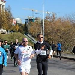 """Vilnius 10 km run, """"Run with Živilė Balčiūnaitė"""". - Anthony Wayne Vinca (2640), Jim Bastick (2646)"""