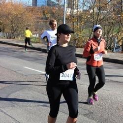 """Vilnius 10 km run, """"Run with Živilė Balčiūnaitė"""". - Milda Patapavičiūtė (2047)"""
